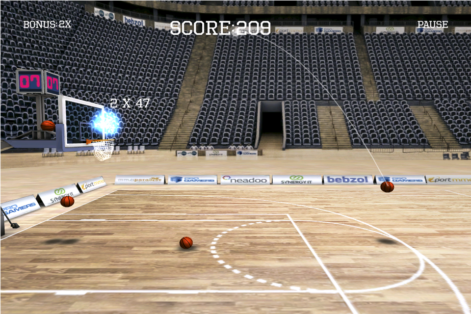 Screenshot iLike Basket