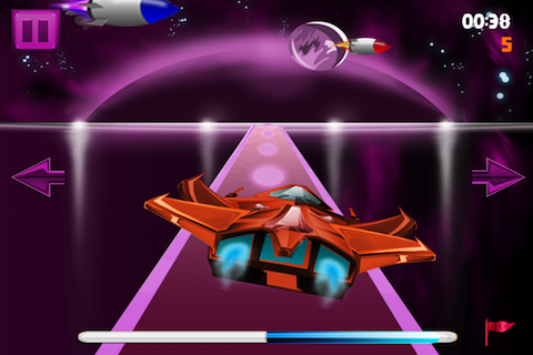 Screenshot iSpaceship Landing