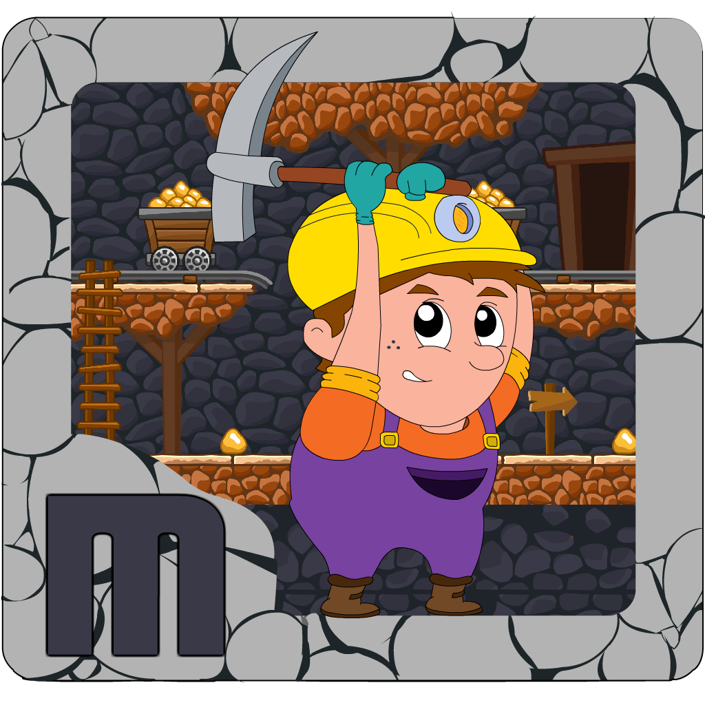 Escape the Pitfall: Gold Mine Dash Escape Pro